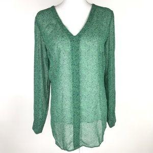 cAbi #5208 Green Blue Bountiful Blouse Tunic